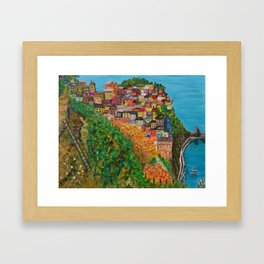 Dreams of Italy Framed Art Print