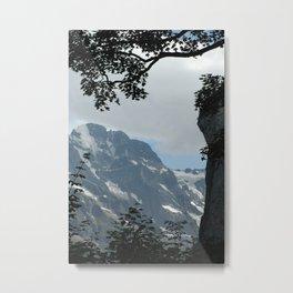 Cooling View Metal Print