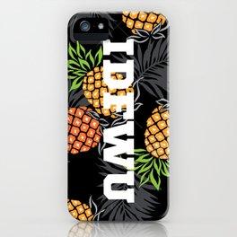 IDFWU Pineapple iPhone Case
