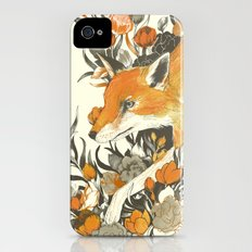 fox in foliage iPhone (4, 4s) Slim Case