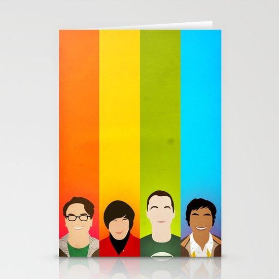 The Big Bang Theory Stationery Cards