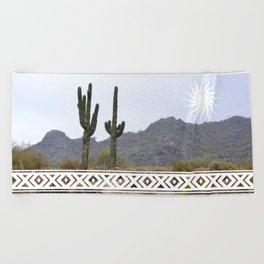 Arizona Sun Beach Towel