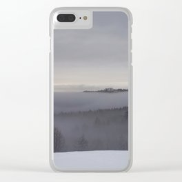 Layers of Vermont Clear iPhone Case