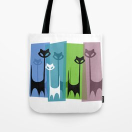 Kitty Cats Tuned In And Receiving Tote Bag