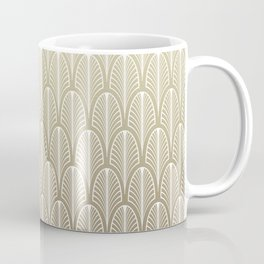 Art DecoGold Pattern Coffee Mug
