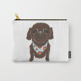 Pedicure Puppy Carry-All Pouch