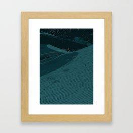 Dune Time Framed Art Print