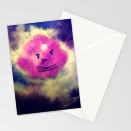 the lumpy space Stationery Cards