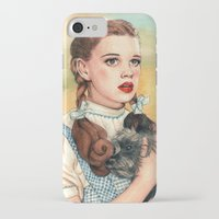 kansas iPhone & iPod Cases featuring I Don't Think We're In Kansas Anymore by Helen Green
