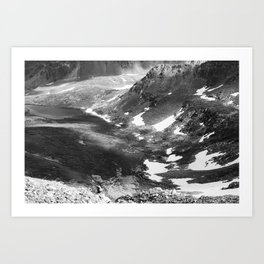 Mountain Cloud Cover Art Print
