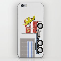 Robot's Wrong Disguise iPhone & iPod Skin