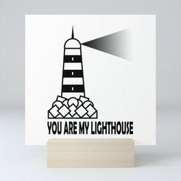 My Lighthouse Mini Art Print