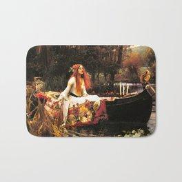 The Lady of Shalott Remastered Bath Mat