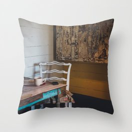 Rustic Living Throw Pillow