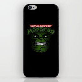 Green Rage Mutant Gamma Monster iPhone Skin