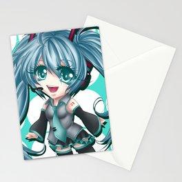 Chibi Hatsune Miku Stationery Cards