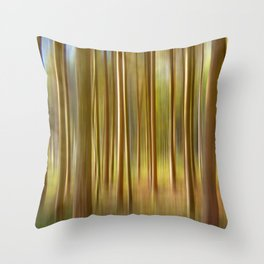 Concept nature : Magic woods Throw Pillow