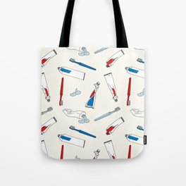 Toothpaste & Toothbrush Tote Bag