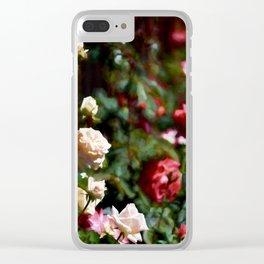 Rose 376 Clear iPhone Case