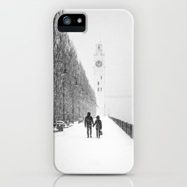 Hold my hand iPhone Case