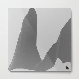 Steel Mountains Metal Print