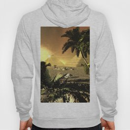Pyramid in the sunet Hoody