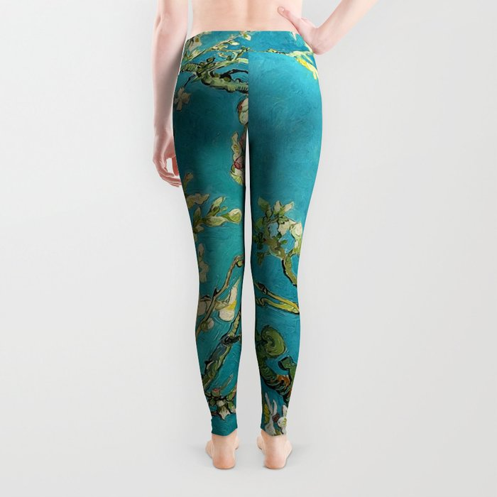Vincent Van Gogh Blossoming Almond Tree Leggings