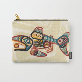 Salish Salmon Carry-All Pouch