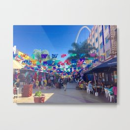 Tijuana Mexico adventure Metal Print