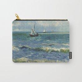 Seascape near Les Saintes-Maries-de-la-Mer Carry-All Pouch
