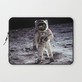 Buzz Aldrin on the Moon Laptop Sleeve