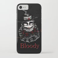 oz iPhone & iPod Cases featuring Oz -Red by artlandofme