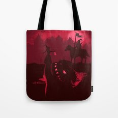 Farewell Brave Knight Tote Bag