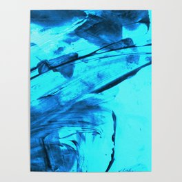 Blue Wind Poster