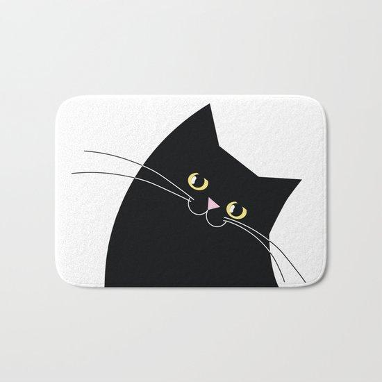 Black Cat of Lara Bath Mat