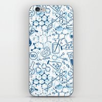 chemistry iPhone & iPod Skins featuring Chemistry by SandiTyche