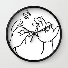 Ingrown nail Wall Clock