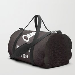 We're All Mad Here Duffle Bag