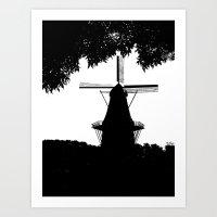 Moulin Noir Art Print