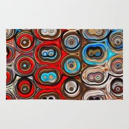 Shapes of Color Rug