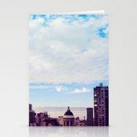 skyline Stationery Cards featuring skyline by Maria Ostapchuk