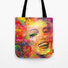 Meryli Monroe Tote Bag