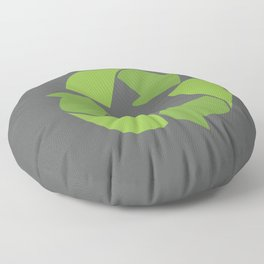 Please Recycle Floor Pillow