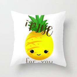 Cute Fruit-Pineapple Throw Pillow