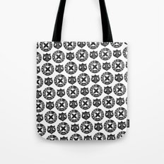 Damaged Goods Shield Tote Bag