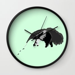 Giant anteater Wall Clock