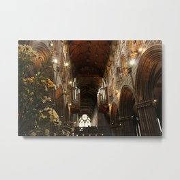 Glasgow Cathedral IV Metal Print