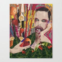 Toxic Tropic Canvas Print