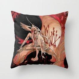 Huntress Throw Pillow