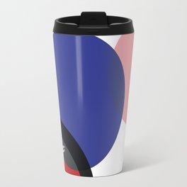KIROVAIR POP ART CIRCLES #minimal #art #design #kirovair #buyart #decor #home Travel Mug